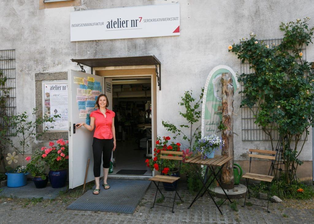 fanny bracke - Intarsienmanfaktur Sachsen im atelier nr7