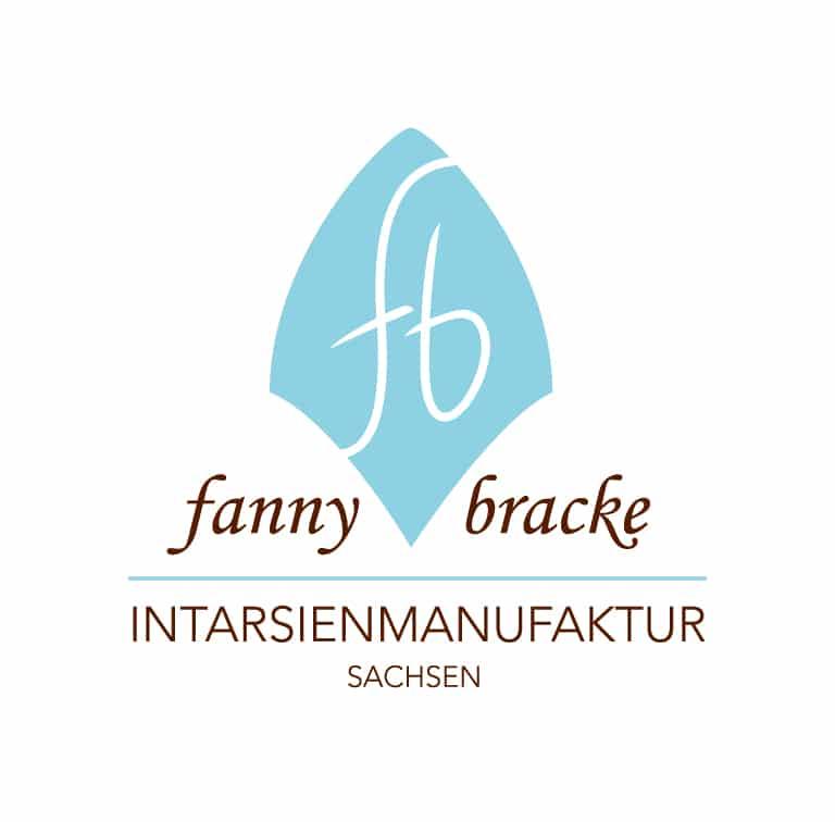 Logo fanny bracke - Intarsienmanufaktur Sachsen