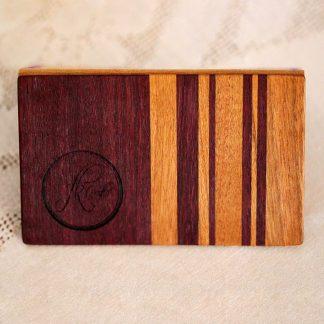 Visitenkartenetui Aus Holz Von Fanny Bracke Design Bestellen