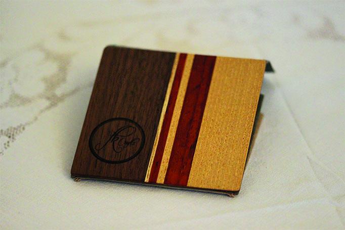 Ein kleines Portemonnaie